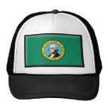 Washington State Flag Mesh Hat