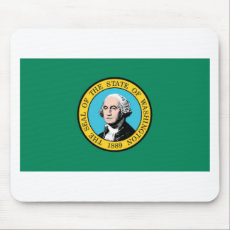 Washington State Flag Mouse Pad