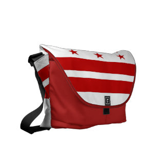 Washington State Flag Rickshaw Messenger Bag