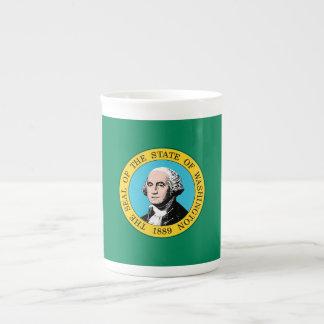 Washington State Flag Tea Cup