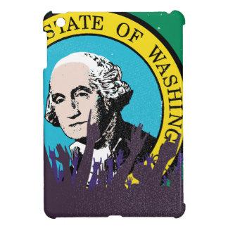 Washington State Flag with Audience iPad Mini Case