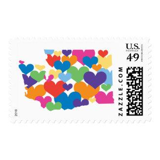 Washington State Love Postage Stamp
