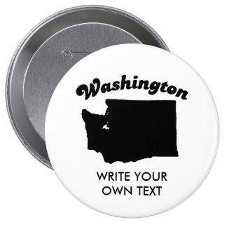 WASHINGTON STATE MOTTO T-SHIRT PIN