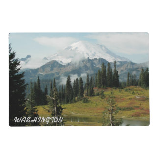 Washington State Mount Rainier Photo Placemat