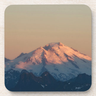 Washington State, North Cascades. Mount Baker Drink Coaster