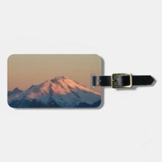 Washington State, North Cascades. Mount Baker Bag Tag