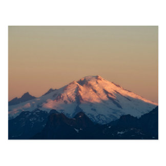 Washington State, North Cascades. Mount Baker Postcard