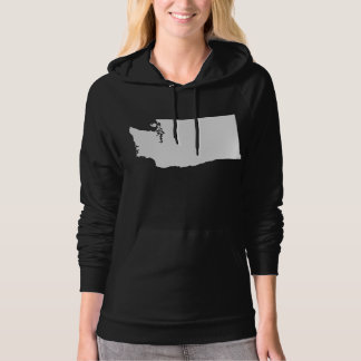 Washington State Outline Hoodie