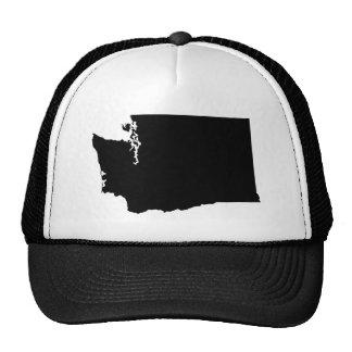 Washington State Outline Trucker Hat