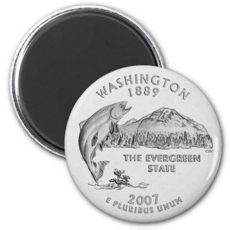 Washington State Quarter Magnet