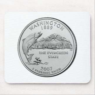 Washington State Quarter Mouse Pad