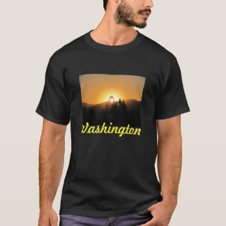 Washington State Sunset T-Shirt