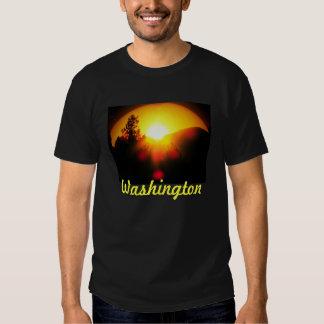 Washington State Sunset T Shirt