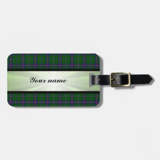 Washington State Tartan With Ribbon Tags For Bags