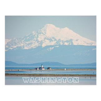 Washington State Travel Photo Postcard
