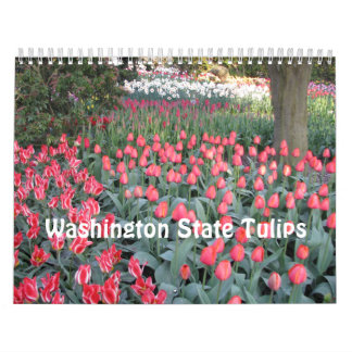 Washington State Tulips Calendar