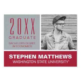 Washington State University Graduation Card