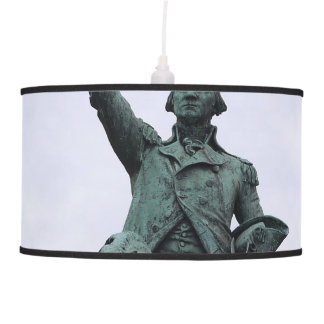 WASHINGTON STATUE HANGING LAMP