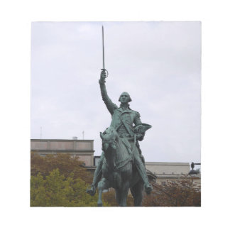 WASHINGTON STATUE NOTEPAD