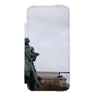 WASHINGTON STATUE WALLET CASE FOR iPhone SE/5/5s