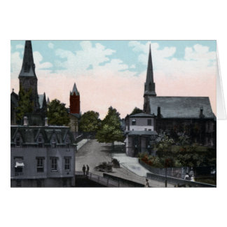 Washington Street Cumberland Maryland 1910 Card