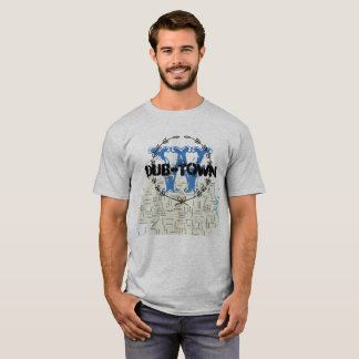 Washington Street Map (Dub-Town) T-Shirt