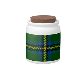 Washington-tartan Candy Jar
