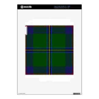 Washington-tartan Decal For iPad 2
