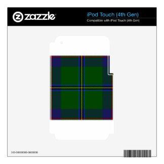 Washington-tartan iPod Touch 4G Decals