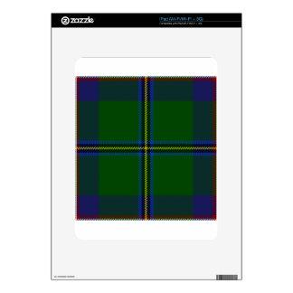 Washington-tartan Skin For iPad