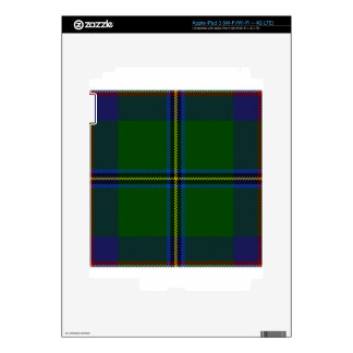 Washington-tartan Skin For iPad 3