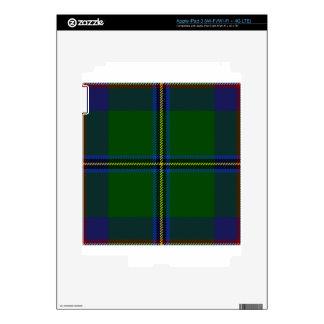 Washington-tartan Skins For iPad 3