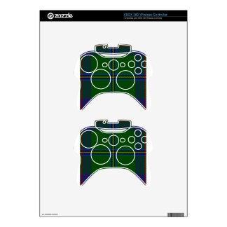 Washington-tartan Xbox 360 Controller Skin