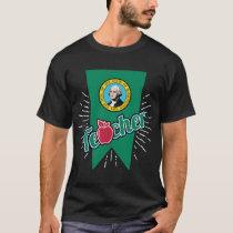 Washington Teacher Gift - WA Teaching Home State T-Shirt
