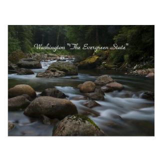 "Washington ""The Evergreen State"" Postcard"