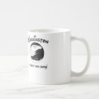 Washington, the Heart of Horse Country Classic White Coffee Mug