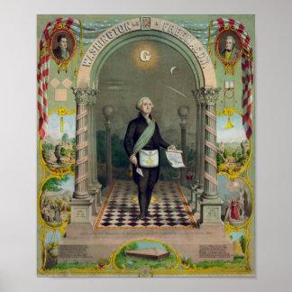 Washington The Mason I Poster
