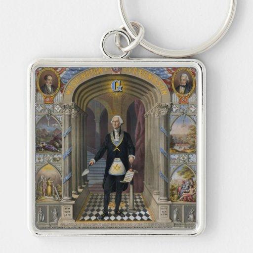 Washington The Mason II Keychains