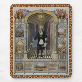 Washington The Mason II Mouse Pad