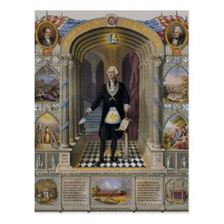 Washington The Mason II Postcard