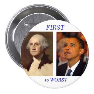 Washington to Obama Button