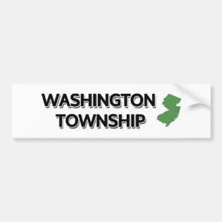 Washington Township, New Jersey Bumper Sticker