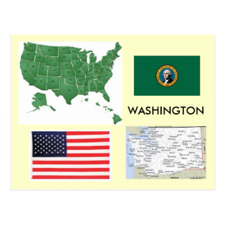 Washington, USA Postcard