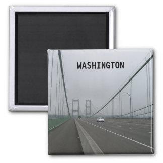 Washington Vintage Travel Tourism Add Magnet
