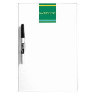 Washington w/ Pen Dry Erase Board