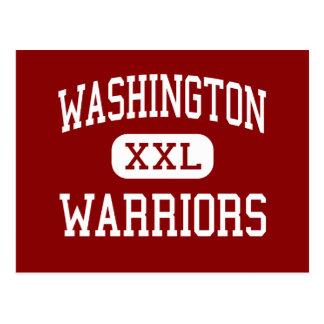 Washington - Warriors - High - Red Cloud Nebraska Postcard