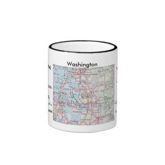 Washington, Whidby es NAS, Marysville, roble Har… Taza De Dos Colores