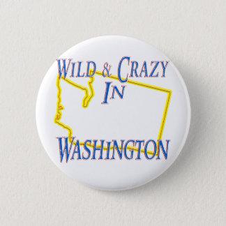 Washington - Wild and Crazy Button