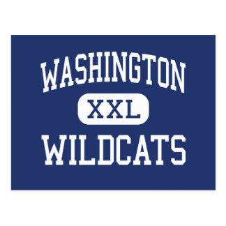 Washington Wildcats Middle Peoria Illinois Postcard