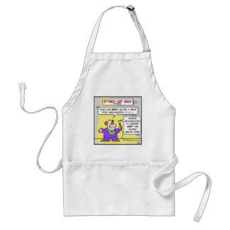 washington worst snow job adult apron